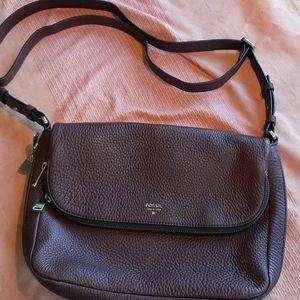 Fossil leather purse